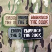 Mil-Spec Monkey Velcro Morale Patch Embrace The Suck
